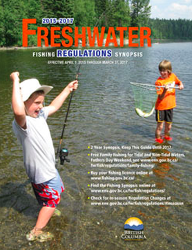 Freshwater license lens sportfishing adventures for Freshwater fishing license